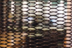 Minimalism interior grid stock photography