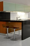 Minimalism kitchen Royalty Free Stock Images