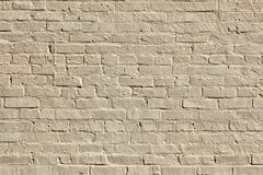 Minimalism. old brick wall. Old brick wall used as a background. texture of brickwork Royalty Free Stock Photo