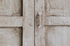 Minimalism style, Wood window pane Stock Images