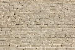minimalism Vecchio muro di mattoni Fotografia Stock Libera da Diritti