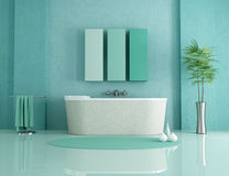 minimalist ванной комнаты иллюстрация вектора