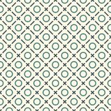 Minimalist abstract background. Simple print with mini crosses, rings and diagonal lines. Geometric seamless pattern. Minimalist abstract background. Simple Stock Photography