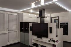 Minimalist apartment  Stock Photo