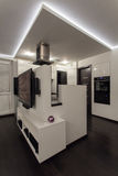 Minimalist apartment - house interior Stock Photos