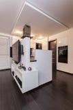Minimalist apartment - modern interior Stock Images
