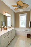 Minimalist bathroom Royalty Free Stock Images