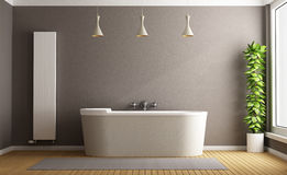 Minimalist bathroom Royalty Free Stock Photos
