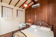 Minimalist Bedroom Villa Royalty Free Stock Image