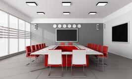 Minimalist  board room Stock Images