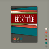 Minimalist Brochure / book / flyer design template Stock Image