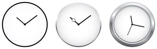 Minimalist Clocks royalty free stock photo