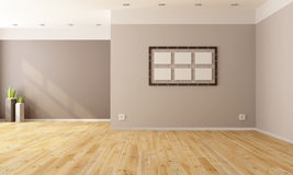 Minimalist empty interior Stock Photography
