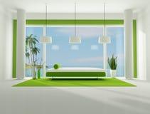Minimalist holiday villa Royalty Free Stock Photography