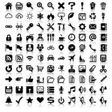 Minimalist Icon Set Royalty Free Stock Photos