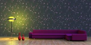 Minimalist interior Stock Images