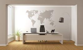 minimalist kontor vektor illustrationer