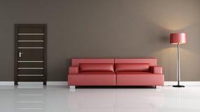 Minimalist living room Royalty Free Stock Photo