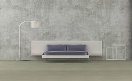 Minimalist living room royalty free illustration