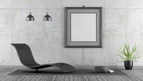 Minimalist living room Royalty Free Stock Photos