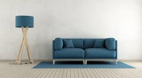 Minimalist living room Stock Photos