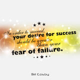 Minimalist motivational poster Stock Photos