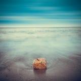 Minimalist seascape. Royalty Free Stock Images