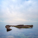 Minimalist Seascape. Royalty Free Stock Photo
