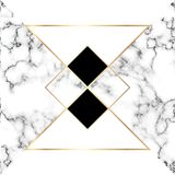 White marble texture royalty free illustration