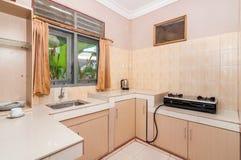 Minimalist style kitchen Stock Images
