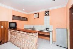 Minimalist style kitchen Stock Photography