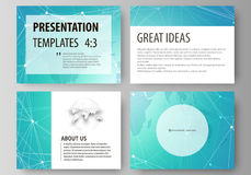The minimalistic abstract vector illustration of the editable layout of the presentation slides design business vector illustration