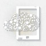 Minimalistic bakgrund med den vita minnestavlan Royaltyfria Bilder