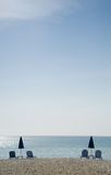 Minimalistic beach photo Stock Photos