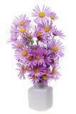 Minimalistic  bouquet  - mini pink chrysanthemums Royalty Free Stock Photo