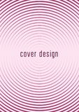 Minimalistic cover template set with gradients. Cool cover template set. Minimal trendy vector with halftone gradients. Geometric cool cover template for flyer Royalty Free Stock Images