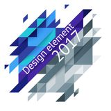 Minimalistic design, creative concept, modern diagonal abstract background Geometric element. Blue diagonal lines triangles. Vector-stock illustration In a royalty free illustration