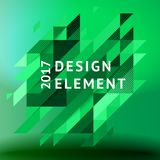 Minimalistic design, creative concept, modern diagonal abstract background Geometric element. Green diagonal lines  triangles. Vector-stock illustration In a Royalty Free Stock Image