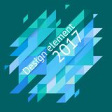 Minimalistic design, creative concept, modern diagonal abstract background Geometric element. Blie diagonal lines triangles. Vector-stock illustration In a stock illustration