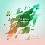 Minimalistic design, creative concept, modern diagonal abstract background Geometric element. Multi-colored geometric waves with transparency and gradients vector illustration
