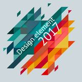 Minimalistic design, creative concept, modern diagonal abstract background Geometric element. Red, green and yellow diagonal lines triangles. Vector-stock vector illustration