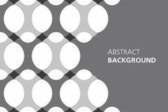 Black and white abstract background Stock Image
