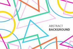Colorful abstract background. Minimalistic design, creative concept, modern diagonal abstract background, Geometrical abstract background Royalty Free Stock Images