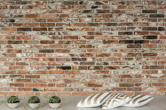 Minimalistic-Design des Dachbodens stockfotografie