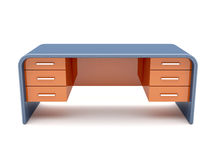 Minimalistic designed desk Royalty Free Stock Photography