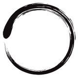 Minimalistic Enso Zen Circle Vetora