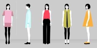 Minimalistic fashion Stock Image