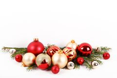 Christmas mood concept. Festive background for winter holidays stock image