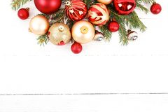 Christmas mood concept. Festive background for winter holidays stock photography