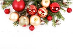 Christmas mood concept. Festive background for winter holidays royalty free stock photos